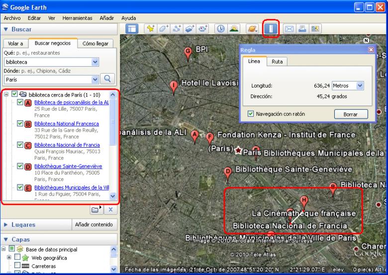 localizar movil google earth