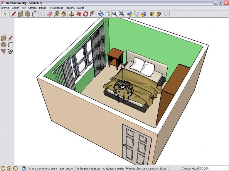 C psula taller tic nivel 2 for Programa para crear habitaciones 3d